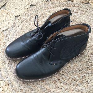 Men's Black Denver Haynes Casual or Formal Shoes
